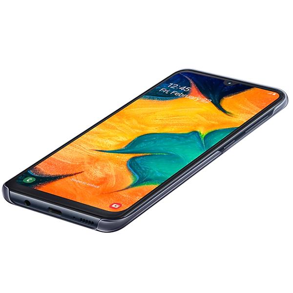 Чехол для Samsung Galaxy A30 Gradation Cover Black EF-AA305CBEGRU
