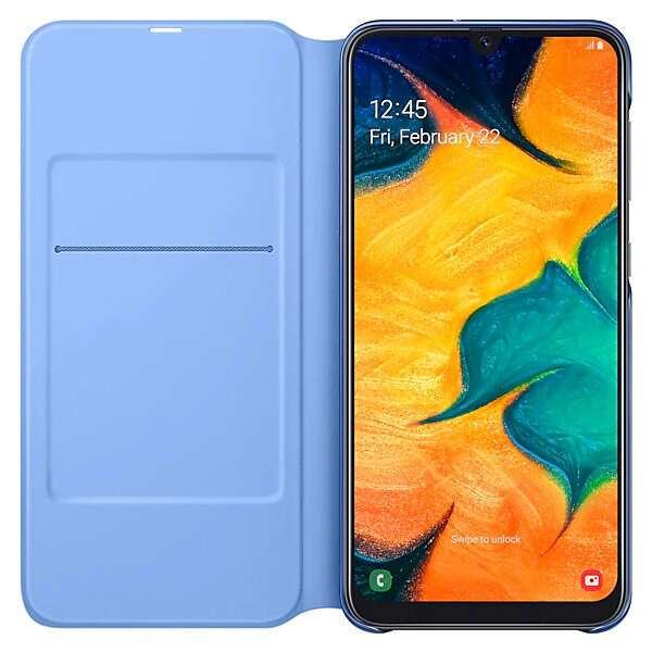 Чехол для смартфона Samsung Galaxy A30 Wallet Cover черный (EF-WA305PBEGRU)