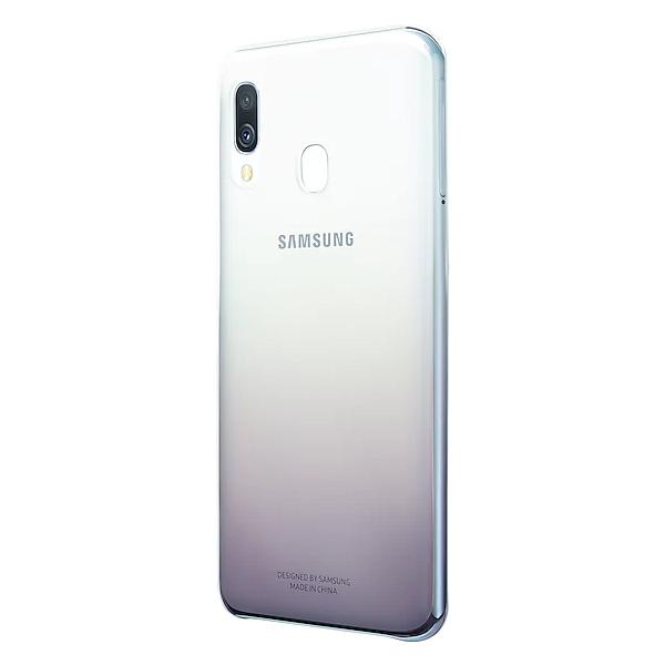 Чехол для смартфона Samsung Galaxy A40 Gradation Cover черный (EF-AA405CBEGRU)