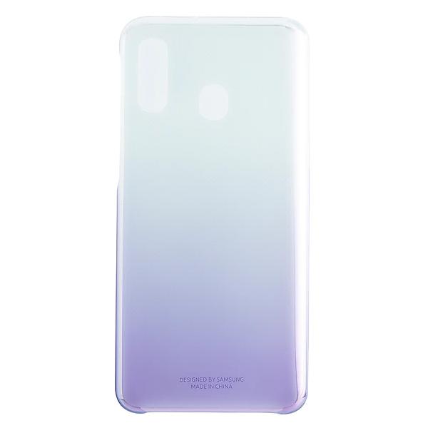 Чехол для смартфона Samsung Galaxy A40 Gradation Cover фиолетовый (EF-AA405CVEGRU)