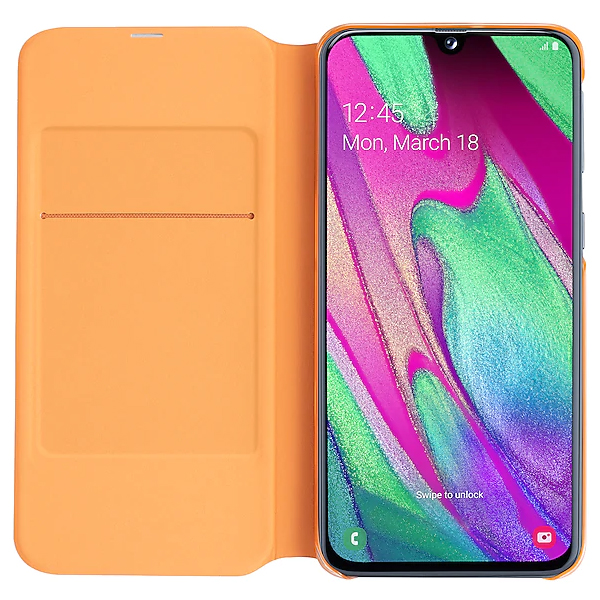 Чехол для Samsung Galaxy A40 Wallet Cover White EF-WA405PWEGRU