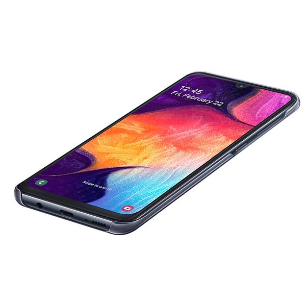 Чехол для смартфона Samsung Galaxy A50 Gradation Cover черный (EF-AA505CBEGRU)