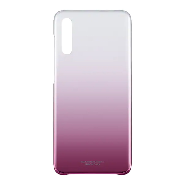 Чехол для смартфона Samsung Galaxy A70 Gradation Cover розовый (EF-AA705CPEGRU)