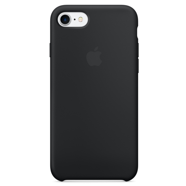 Чехол для смартфона Apple iPhone 8/7 Silicone Case Black (MQGK2)