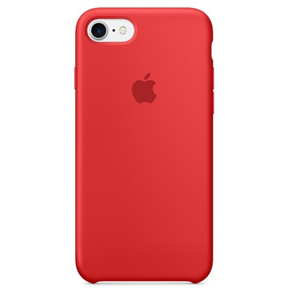 Чехол для смартфона Apple iPhone 8/7 Silicone Case Product Red (MQGP2)