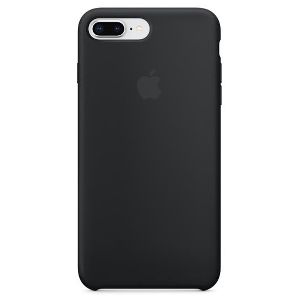 Чехол для смартфона Apple iPhone 8 Plus / 7 Plus Silicone Case Black (MQGW2)