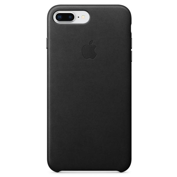Чехол Apple iPhone 7 Plus/8 Plus Leather Case MQHM2 Black