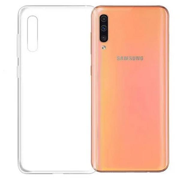 Защитный чехол для Samsung A70, прозрачный