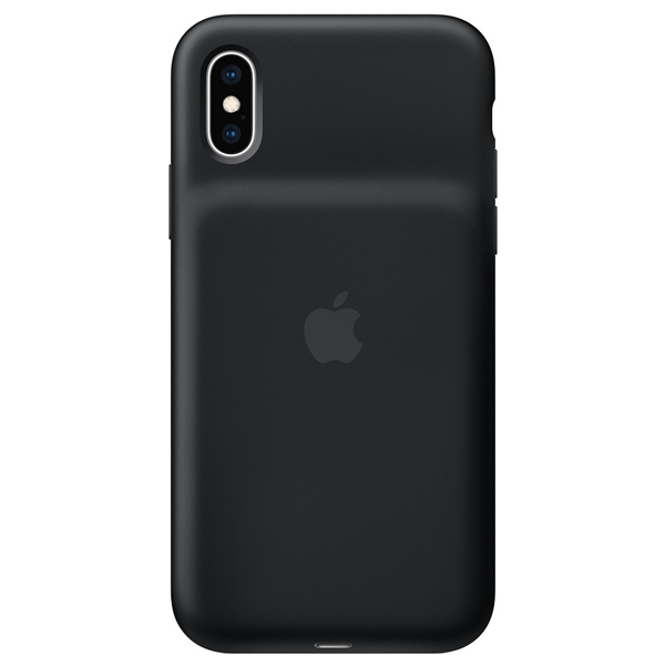 Чехол-зарядка для смартфона Apple iPhone XS Smart Battery Case MRXK2 Black