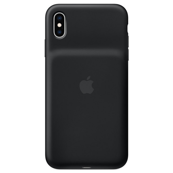 Чехол-зарядка для смартфона Apple iPhone XS Max Smart Battery Case Black (MRXQ2)