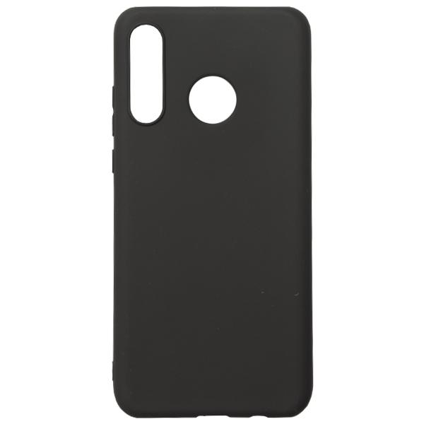 Чёрный силиконовый чехол для Huawei P 30 Lite TOTO