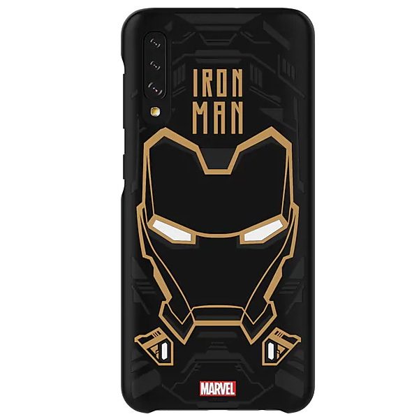 Чехол для Samsung Galaxy A50 Smart Cover Iron Man Edition GP-FGA505HIBBW
