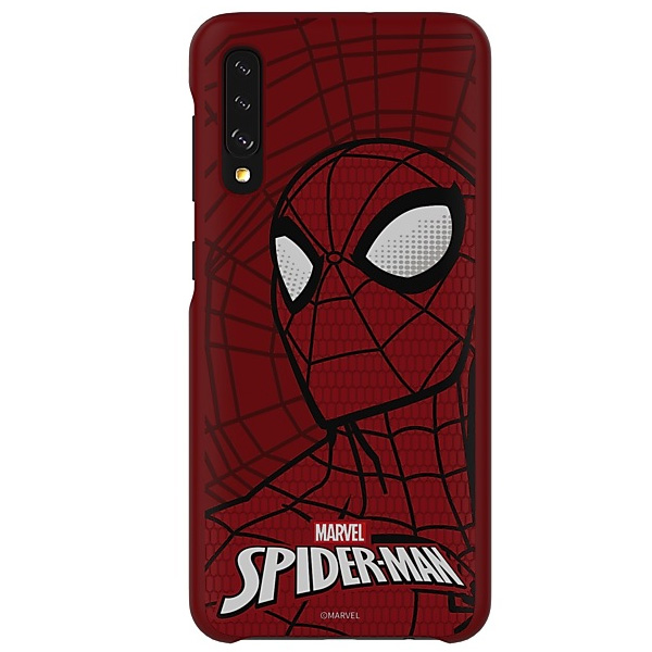 Чехол для Samsung Galaxy A50 Smart Cover Spider-Man Edition GP-FGA505HIBRW