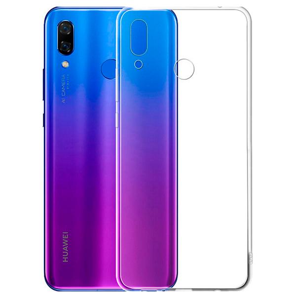 Чехол A-case для Huawei P Smart 2019 Blue-Purple