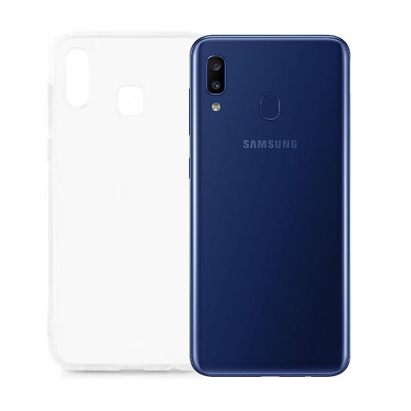 Чехол TOTO для Samsung Galaxy A20S Transperent