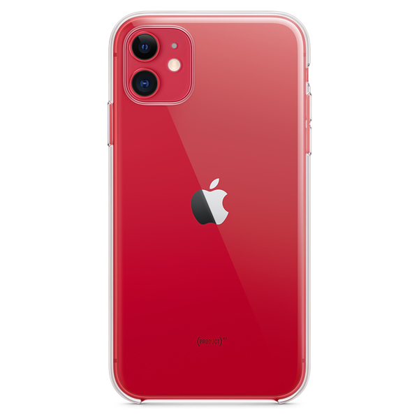 Чехол Apple iPhone 11 Silicone Case Transparent