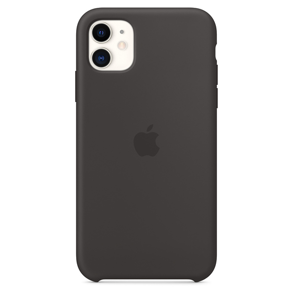 Чехол Apple iPhone 11 Silicone Case Black