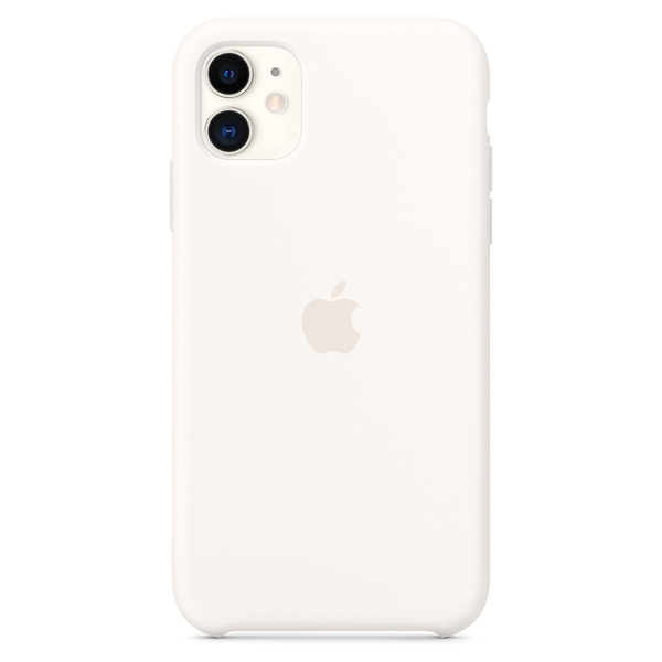 Чехол Apple iPhone 11 Silicone Case White