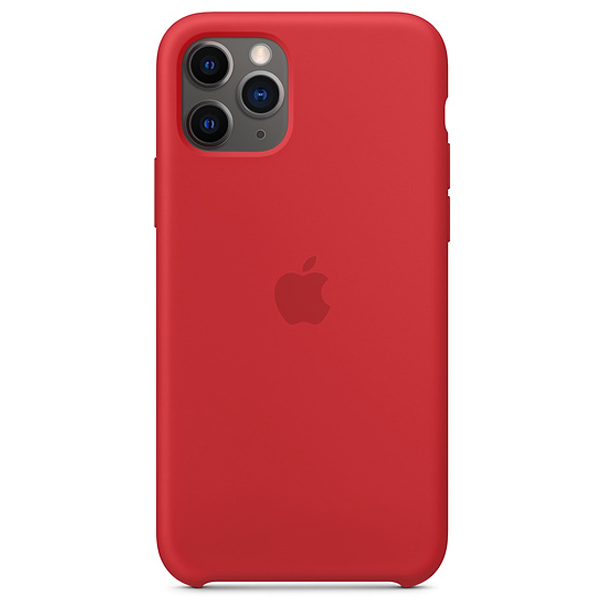 Чехол Apple iPhone 11 Pro Silicone Case Red