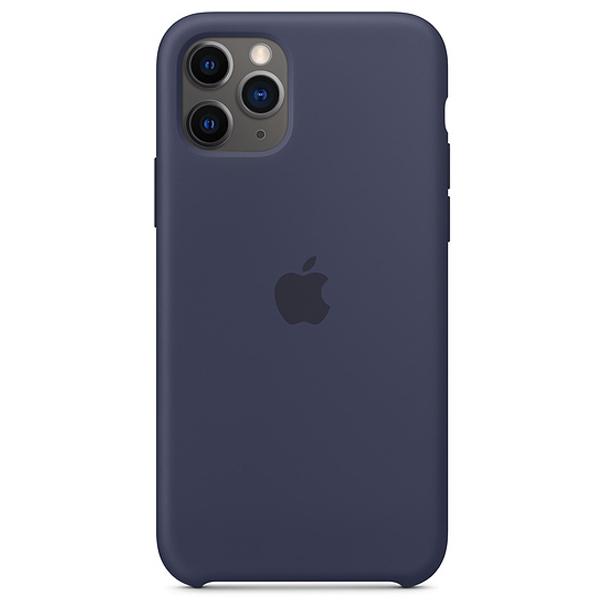 Чехол Apple iPhone 11 Pro Silicone Case Dark blue