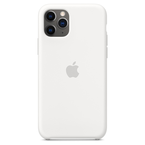 Чехол Apple iPhone 11 Pro Silicone Case White
