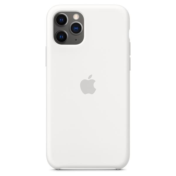 Чехол Apple iPhone 11 Pro Silicone Case White