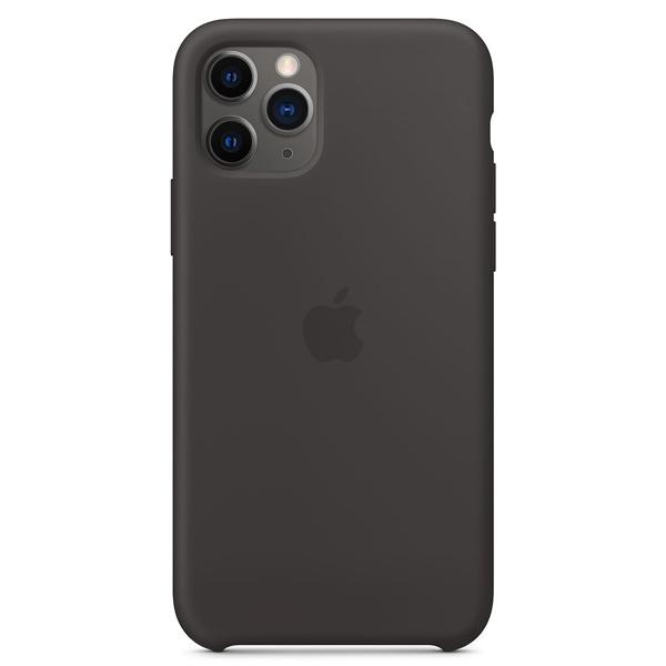 Чехол Apple iPhone 11 Pro Silicone Case Black