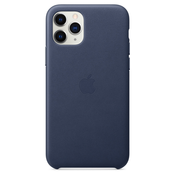 Чехол Apple iPhone 11 Pro Leather Case Blue