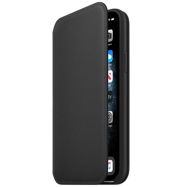 Чехол Apple iPhone 11 Pro Leather Folio Black