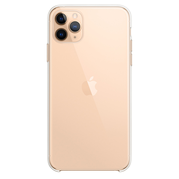 Чехол Apple iPhone 11 Pro Max Silicone Case Transparent