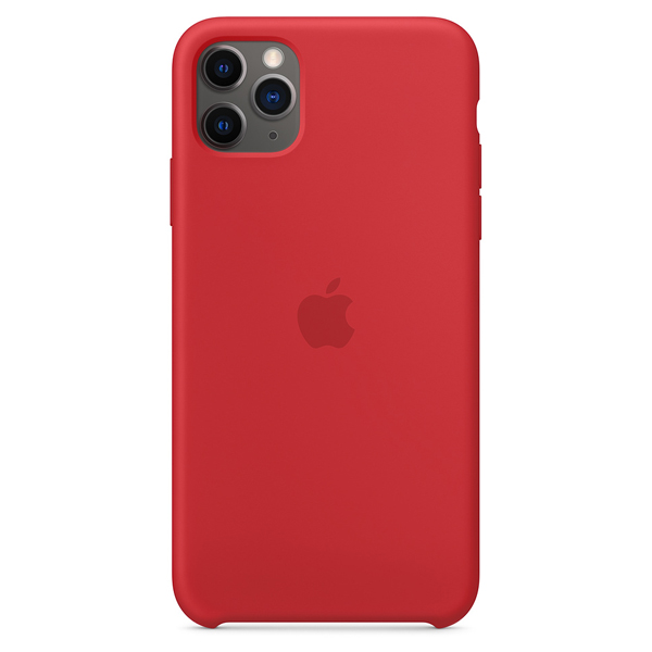 Чехол Apple iPhone 11 Pro Max Silicone Case Red