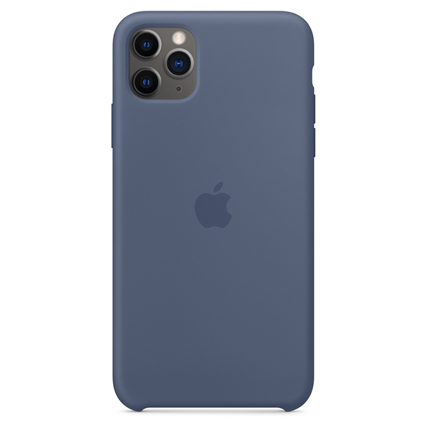 Чехол Apple iPhone 11 Pro Max Silicone Case Blue