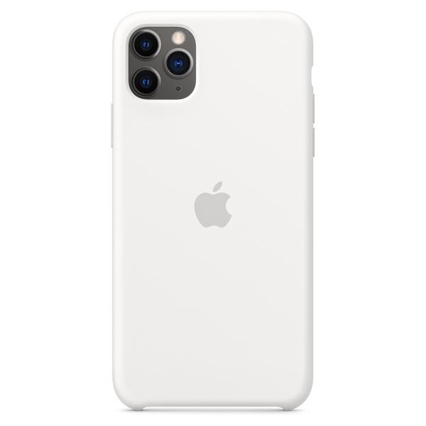 Чехол для смартфона Apple iPhone 11 Pro Max Silicone Case Белый