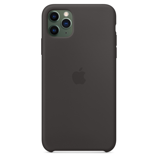 Чехол Apple iPhone 11 Pro Max Silicone Case Black