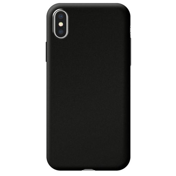 Чехол Deppa Case Silk для Apple iPhone X/XS Black Metallic