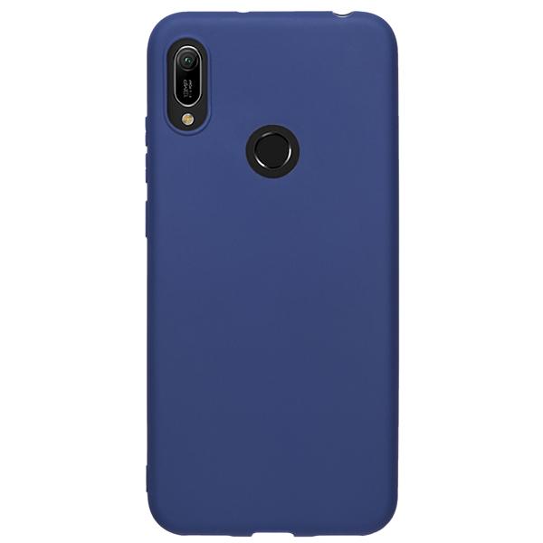 Чехол Deppa Gel Color Case для Huawei Y6 2019 Blue PET White