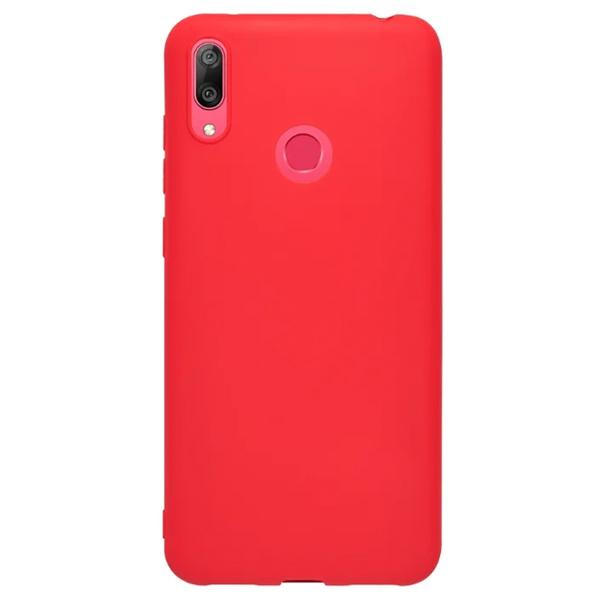 Чехол Deppa Gel Color Case для Huawei Y7 2019 Red PET White