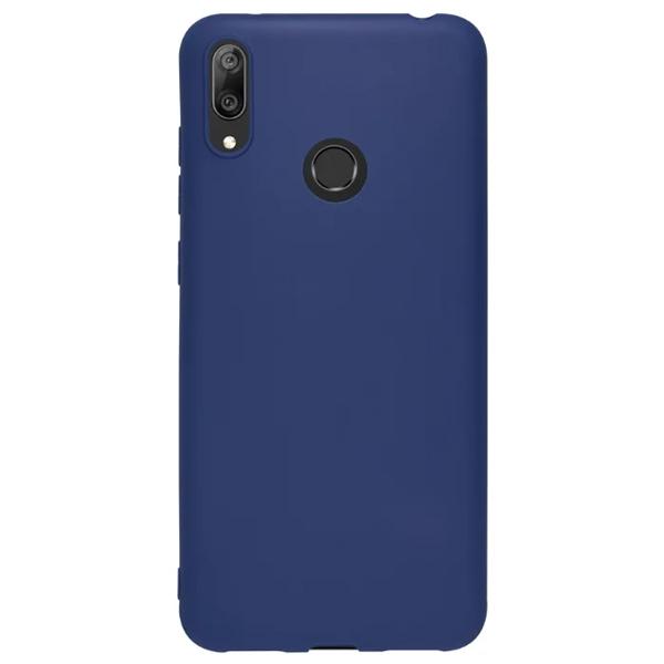 Чехол Deppa Gel Color Case для Huawei Y7 2019 Blue PET White