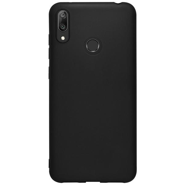 Чехол Deppa Gel Color Case для Huawei Y7 2019 Black PET White