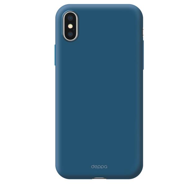 Чехол Deppa Gel Color Case для Apple iPhone X/XS Blue