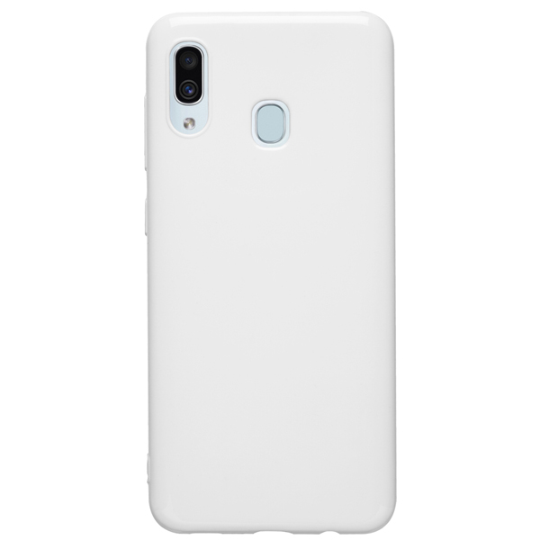 Чехол Deppa Gel Color Case для Samsung Galaxy A30 2019 White PET White