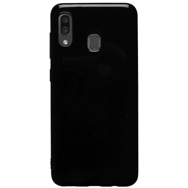 Чехол Deppa Gel Color Case для Samsung Galaxy A30 2019 Black PET White