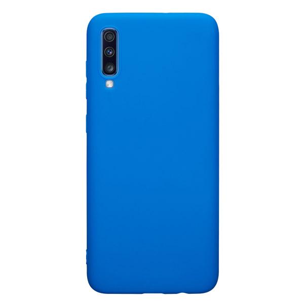Чехол для Deppa Gel Color для Samsung Galaxy A70 Blue PET White