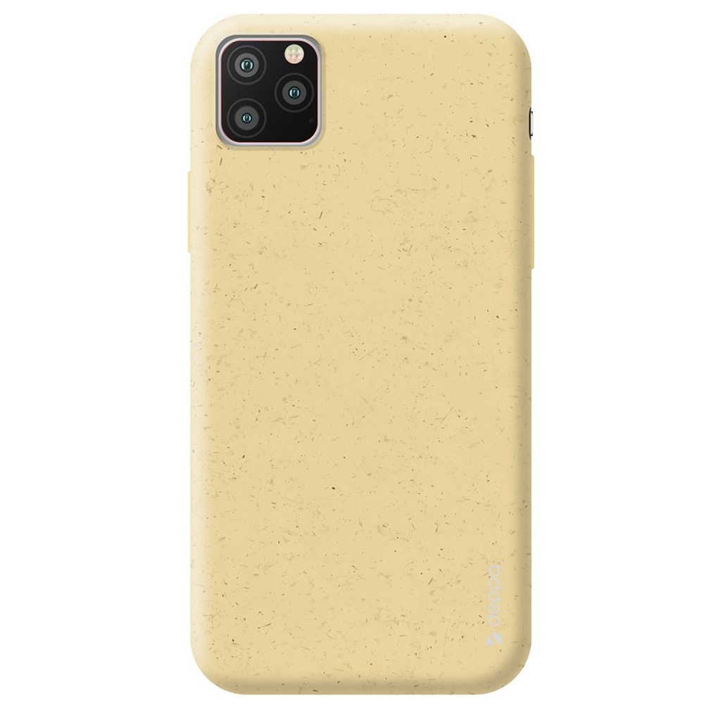 Чехол Deppa Eco Case для Apple iPhone 11 Pro Max Yellow