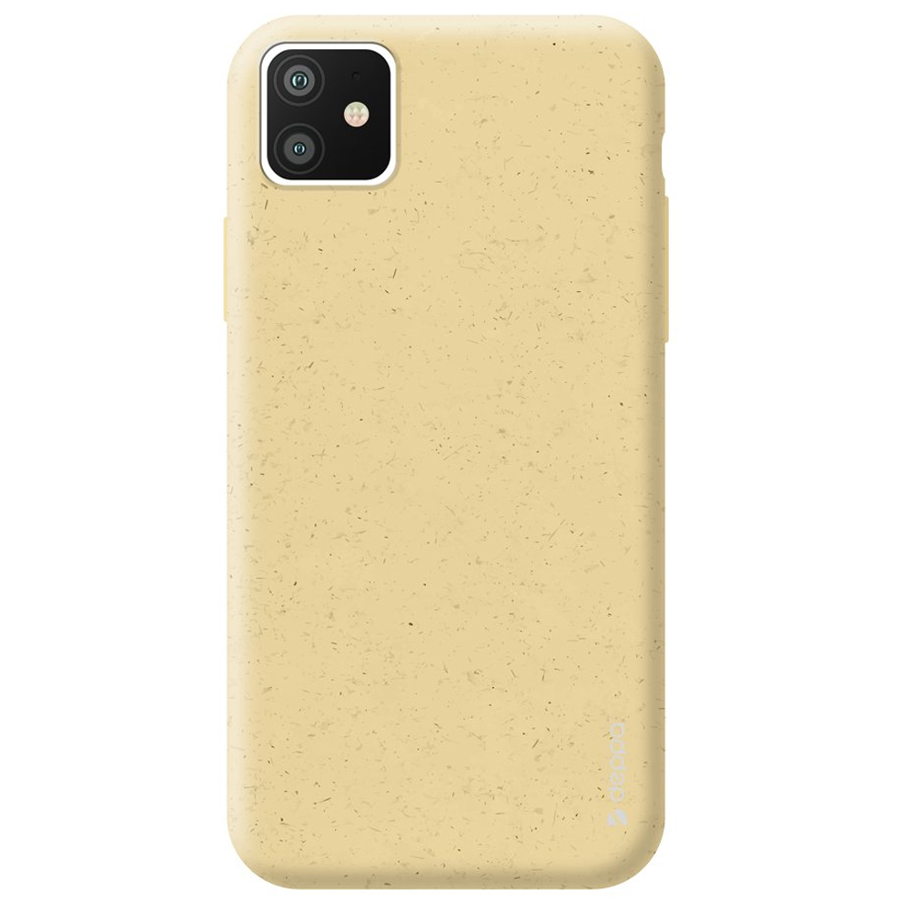 Чехол Deppa Eco Case для Apple iPhone 11 Yellow