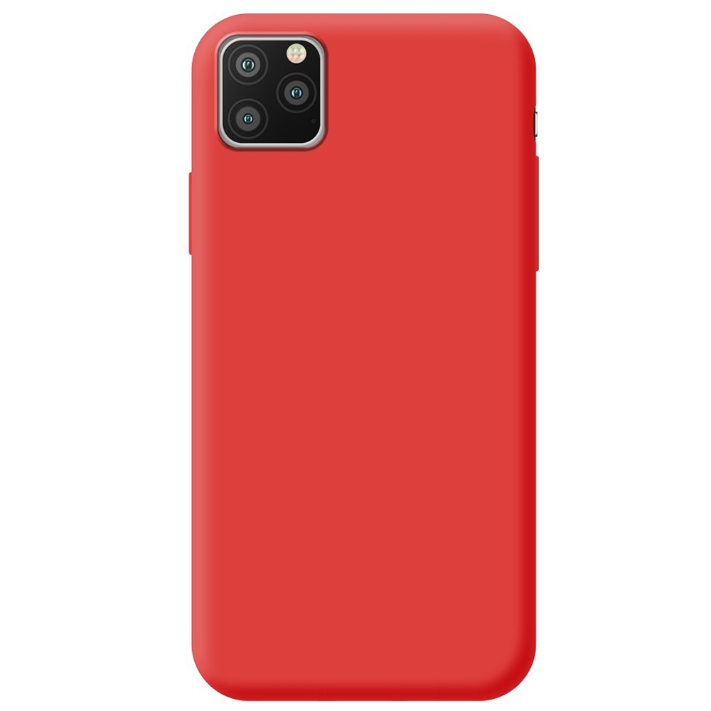 Чехол Gel Color Case Basic для Apple iPhone 11 Pro Max Red PET White