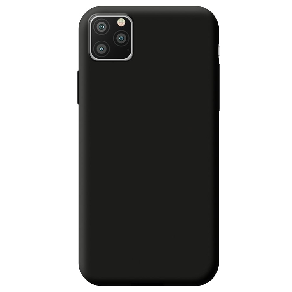Чехол Gel Color Case Basic для Apple iPhone 11 Pro Max Black PET White