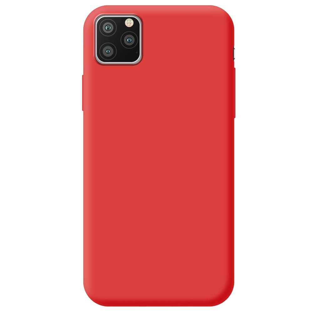 Чехол Gel Color Case Basic для Apple iPhone 11 Red PET White