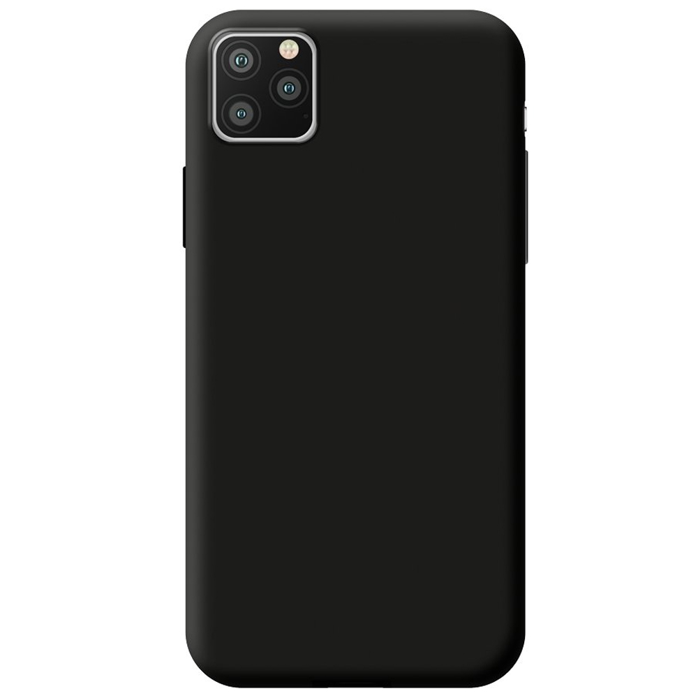 Чехол Gel Color Case Basic для Apple iPhone 11 Black PET White