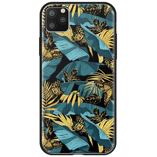 Чехол Deppa Glass Case для Apple iPhone 11 Pro Джунгли